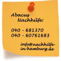 Kontakt: Abacus Nachhilfe Hamburg und Stormarn